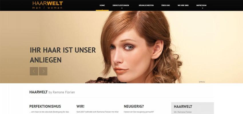 HAARWELT-GG.DE online mit neuem Design